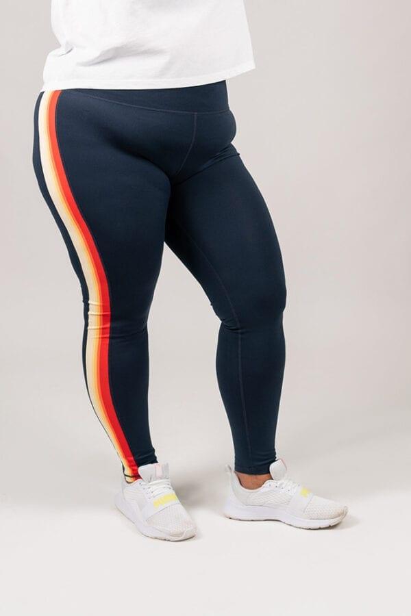 women's sustainable running leggings