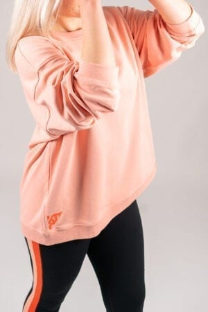 Sustainable activewear sweater